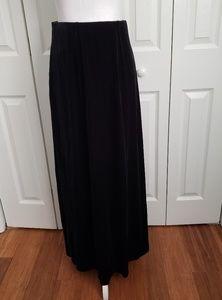NWT Worthington Tall Long Velvet Skirt